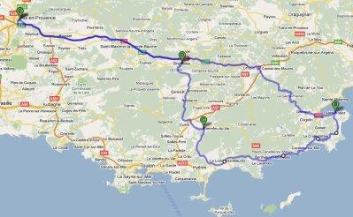 Sortie Mototourisme : Saint Tropez 25 Avril 2010