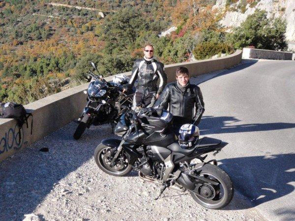 Sortie : Gorges du Verdon 5 Novembre 2010