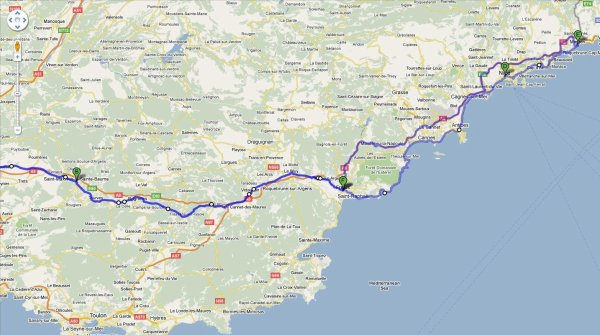 Sortie Mototourisme : Menton 19-20 Février 2011