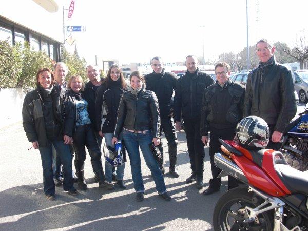 Sortie Mototourisme : Avignon 26 Mars 2011