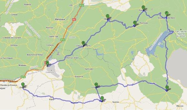 Sortie Mototourisme : Lavande et Sainte Croix 7 Juillet 2011