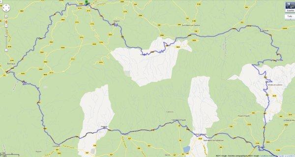 Sortie Mototourisme : Lubéron 29 Septembre 2011